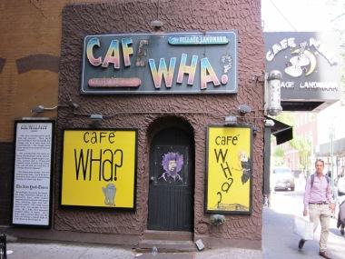 Live Musik im Cafe Wha - Walking Tour Greenwich Village