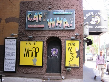 Live Musik im Cafe Wha - Walking Tour Greenwich Village
