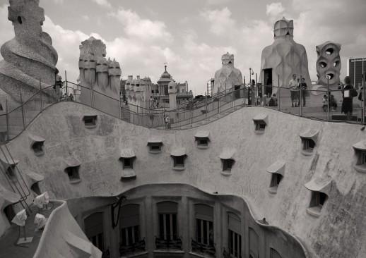 Barcelona Casa Mila – Juli 2011