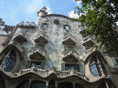 Sightseeing Barcelona (11) Casa Mila