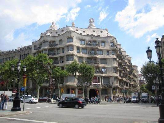 Sightseeing Barcelona (12) Casa Mila