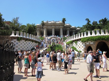 Sightseeing Barcelona (15) Park Guell