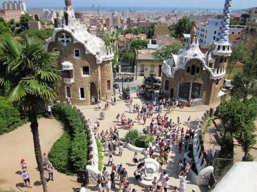 Barcelona Park Guell – Juli 2011