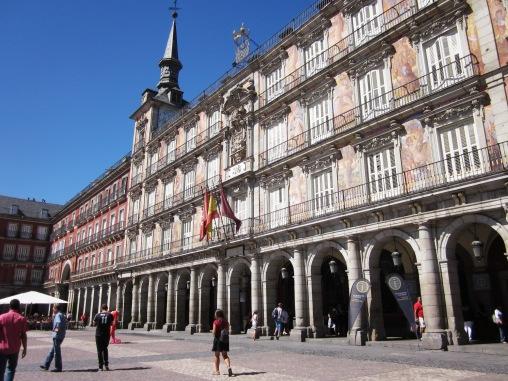 Benschilada Sightseeing Madrid (2) Placa Mayor