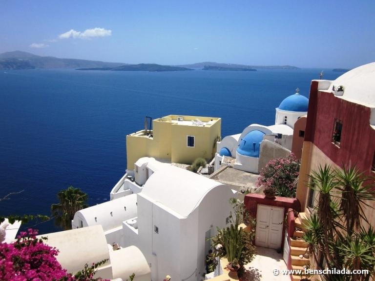 Urlaub auf Santorini - Griechenland