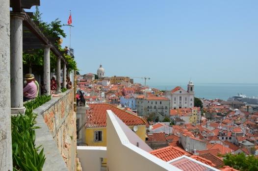 Mirador de Santa Lucia, Lisboa