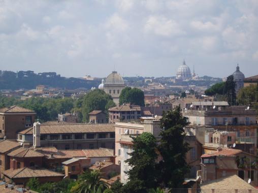 Ausblick auf den Petersdom