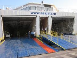 Von Heraklion nach Santorini mit der Fähre von Seajets.gr