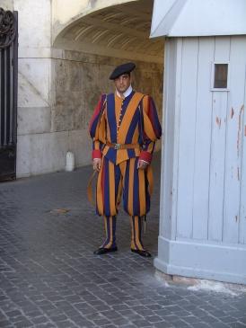 Schweizer Garde - Wachen des Vatikans