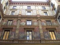 Innenhof in der Nähe von Fontana die Trevi