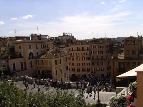 Piazza della Trinitia dei Monti