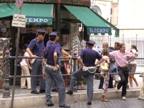 Policia a Roma