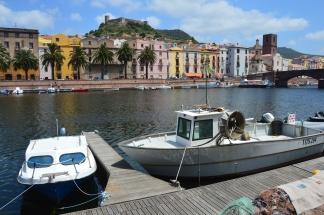 Bosa Sardinien - Juni 2015