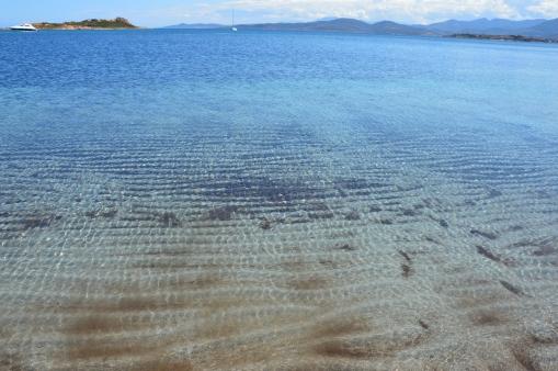 spiaggia della Baia Salinedda