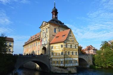 Altes Rathaus Bamberg - Oktober 2015
