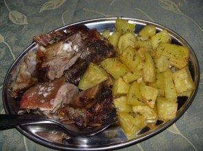Italienisches Essen Agriturismo L'Alculiciu
