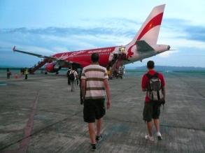 Air Asia- Kota Kinabalu- Mount Kinabalu