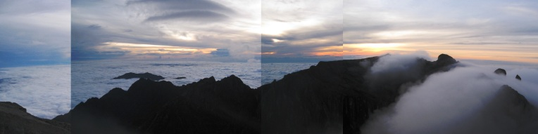 Malaysia - Panorama Mount Kinabalu