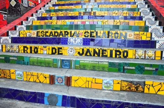 Rio de Janeiro (8) - escadaria selaron