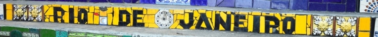 Rio de Janeiro (8) - schriftzug selaron