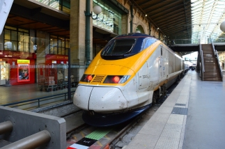 With a Hi Speed Train from Frankfurt via Paris to London (29)