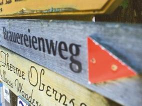 Brauereienweg Aufsess - Quelle Bild Internetseite Fraenkische Schweiz