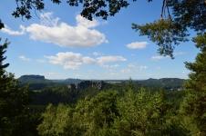 Basteibruecke Elbsandsteingebirge Sachsen (1)