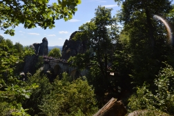 Basteibruecke Elbsandsteingebirge Sachsen (12)