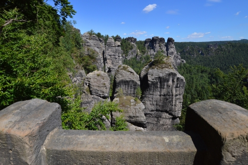 Basteibruecke Elbsandsteingebirge Sachsen (13)
