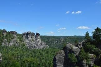 Basteibruecke Elbsandsteingebirge Sachsen (18)