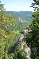 Basteibruecke Elbsandsteingebirge Sachsen (25)