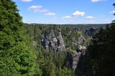 Basteibruecke Elbsandsteingebirge Sachsen (3)