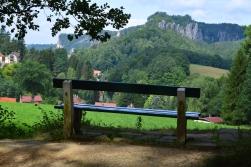 Basteibruecke Elbsandsteingebirge Sachsen (30)