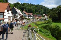 Basteibruecke Elbsandsteingebirge Sachsen (35)