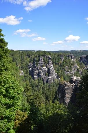 Basteibruecke Elbsandsteingebirge Sachsen (4)