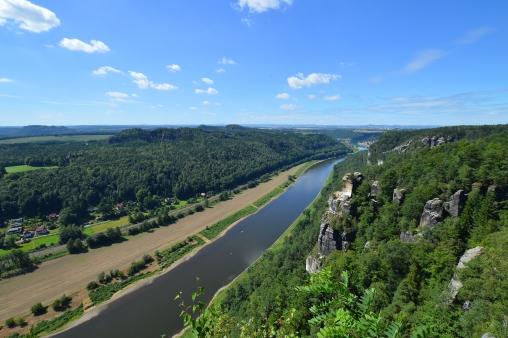 Basteibruecke Elbsandsteingebirge Sachsen (8)